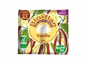 Mix budinca vanilie bio fara zahar