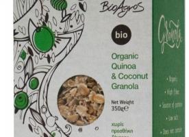 Granola cu quinoa si cocos eco