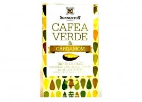 Cafea verde cardamon eco
