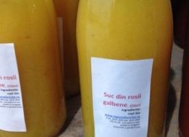Suc din rosii galbene, 750 ml