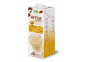 Lapte vegetal de orez cu lamaie si scortisoara bio, b_r