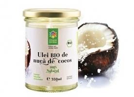 Ulei de cocos ecologic presat la rece Steaua Divina